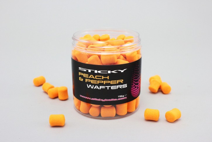 Sticky Baits Peach & Pepper Wafters, 115gr