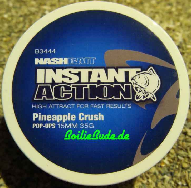 Nashbait Instant Action Pineapple Crush Pop Up´s 15mm, 35gr.