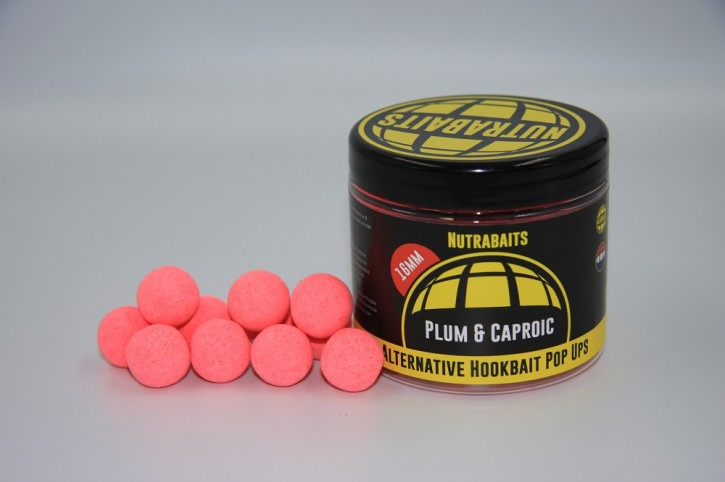 Nutrabaits Plum & Caproic Acid Alternativ Pop Up´s