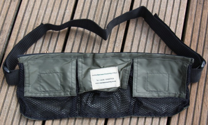 3 Pocket Baiting/Stalking Pouch von The Air Dry Boilie Bag Company