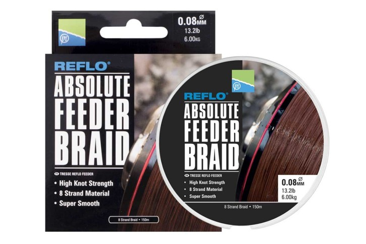Preston Innovations Reflo Absolute Feeder Braid