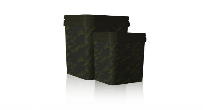 Nash Tackle Rectangular Bucket Standard, 10 Liter