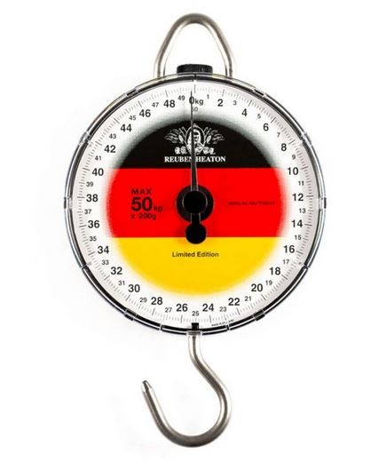 Reuben Heaton Standard Angling Flag Scale Germany, Angelwaage