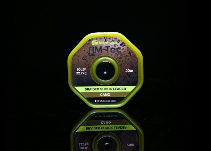 RidgeMonkey RM-Tec Braided Shock Leader 50lb