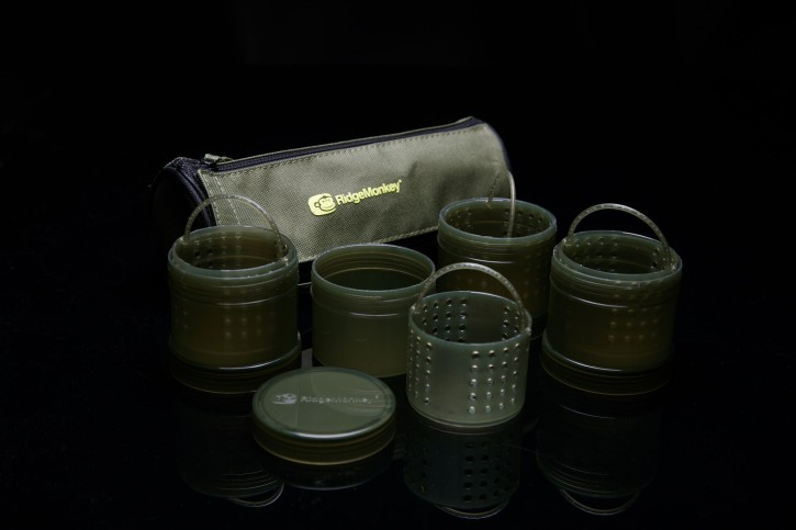 RidgeMonkey Modular Hookbait Pots Green