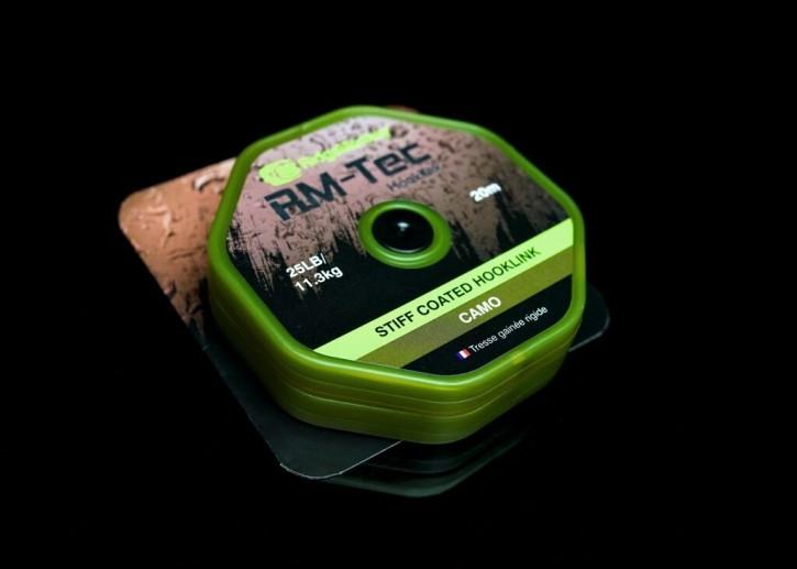 RidgeMonkey RM-Tec Stiff Coated Hooklink Camo 25lb