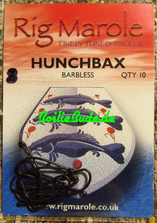 Rig Marole Hunchbax Hooks Größe 8, Barbless, ohne Widerhaken