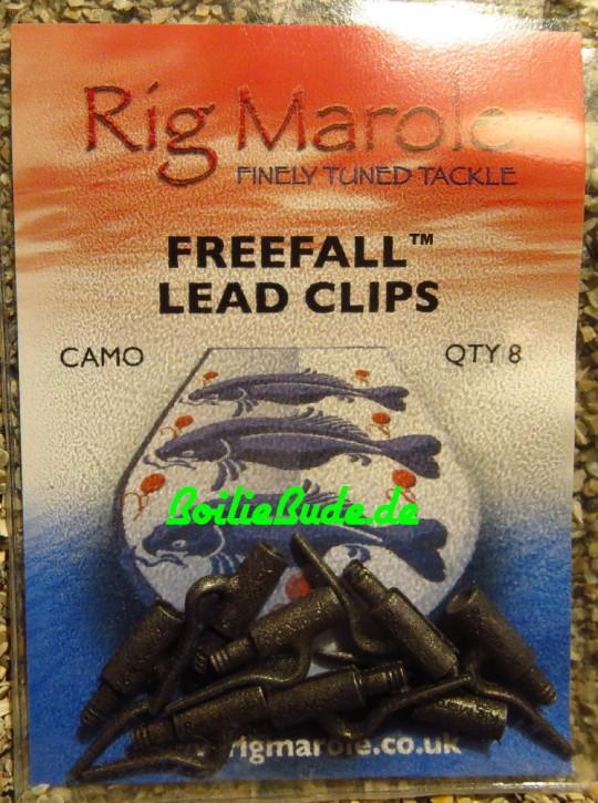 Rig Marole Free Fall Leadclips Camo Standard