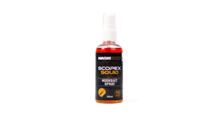 Nashbait Scopex Squid Baitspray 100ml