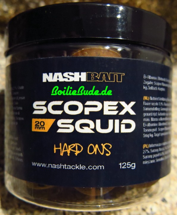 Nashbait Scopex Squid Hard On´s 20mm, 125gr.