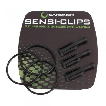Gardner Tackle Sensi Clips, 3er Pack