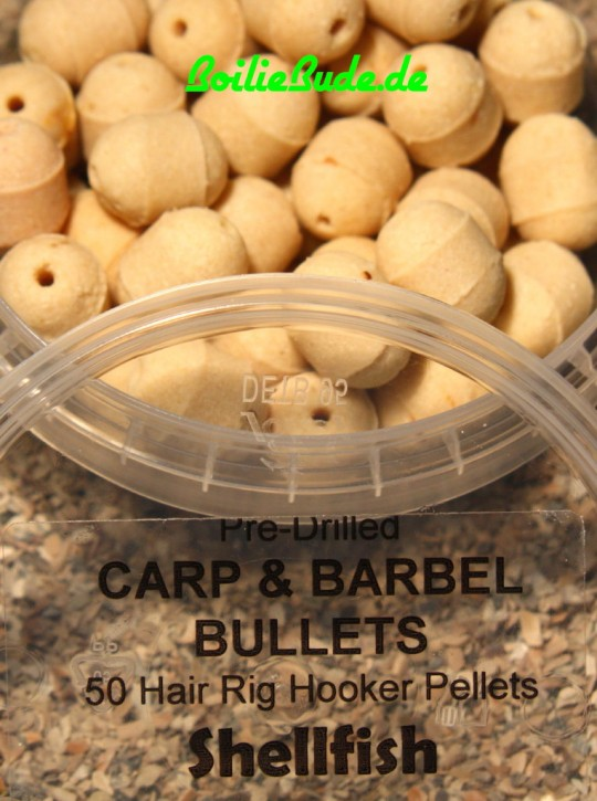 Shellfish Carp & Barbel Bullet in 13mm x 16mm