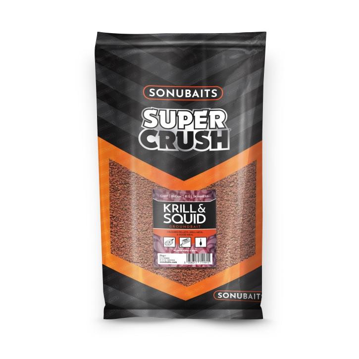Sonubaits Super Crush Squid & Krill, 2kg