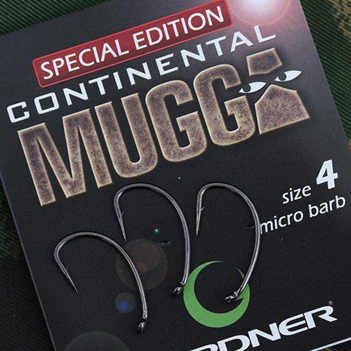 Gardner Tackle Covert Dark Continental Mugga Hook Hakengröße 6