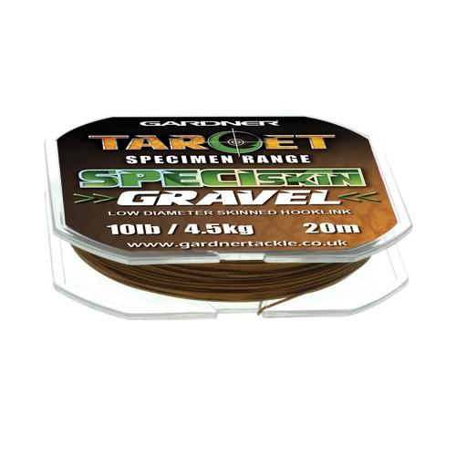 Gardner Tackle Target SpeciSkin Gravel 10lb, 20m