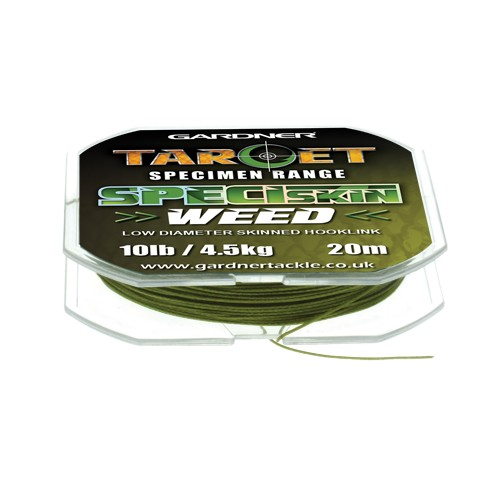 Gardner Tackle Target SpeciSkin Weed 10lb, 20m