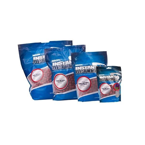 Nashbait Instant Action Squid & Krill Boilies 18mm, 5kg