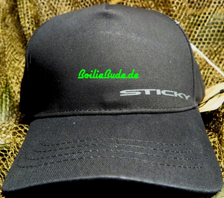 Sticky Baits Black ID Cap