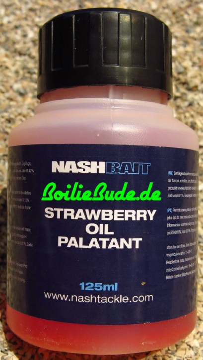 Nashbait Strawberry Oil Palatant, 125ml