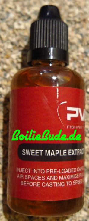 PVA Fishing Tackle PVA Accelerator Sweet Maple 50ml