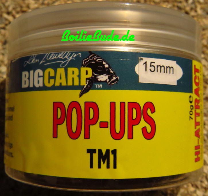 Big Carp TM1 Pop Ups 15mm