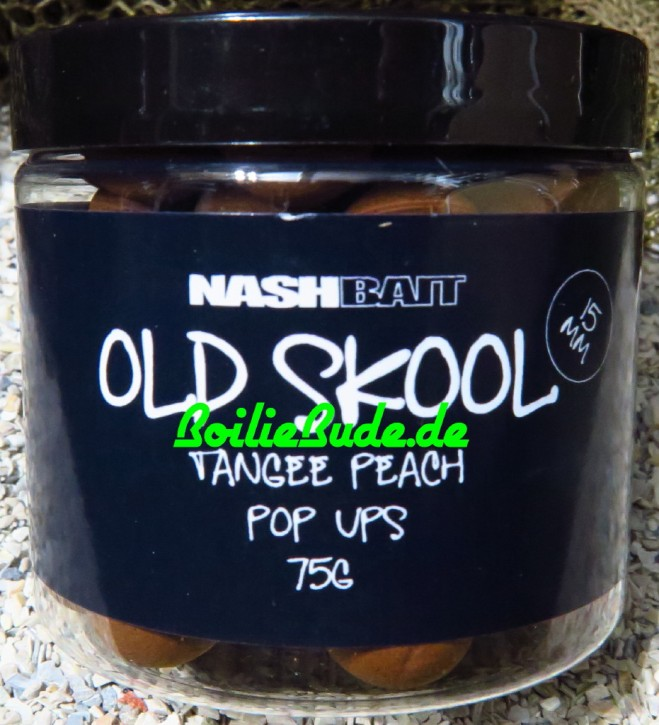 Nashbait Tangee Peach Pop Up´s 15mm, 75gr.
