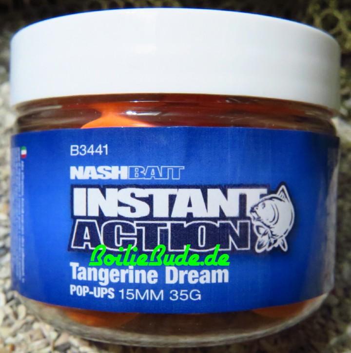Nashbait Instant Action Tangerine Dream Pop Up´s 15mm, 35gr.