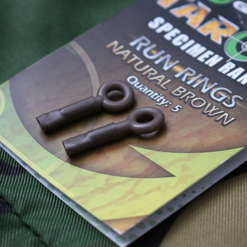 Gardner Tackle Target Run Rings Natural Brown