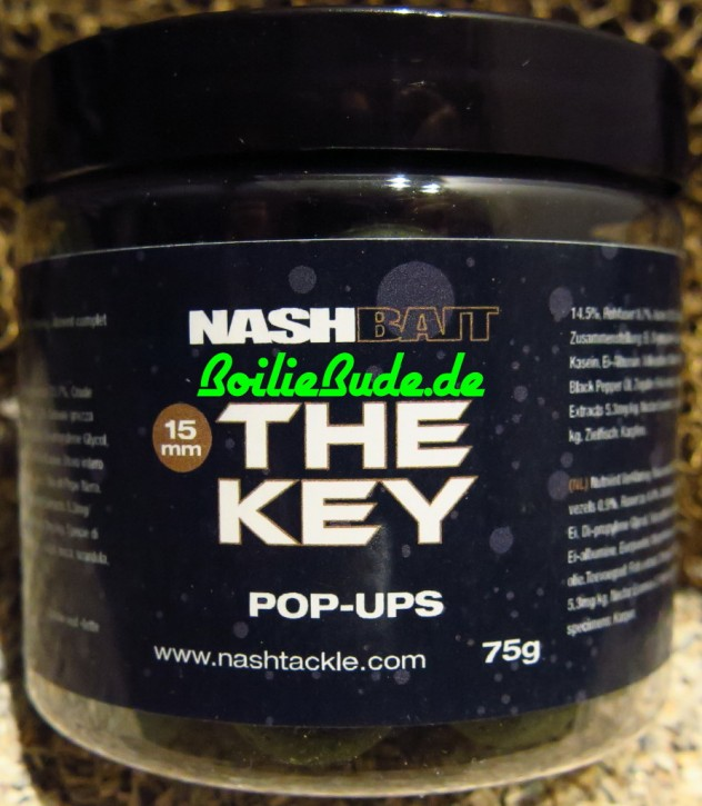 Nashbait The Key Pop Ups 15mm, 75gr.