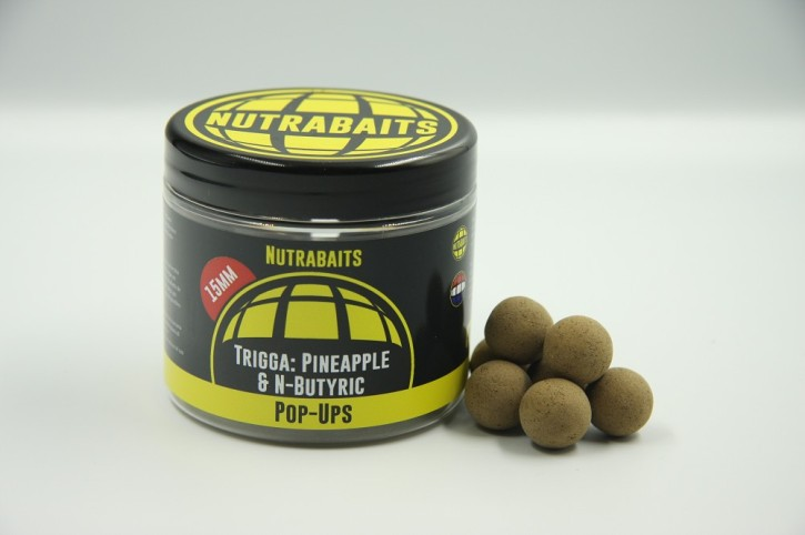 Nutrabaits Trigga Pineapple & N-Butric Pop Up´s