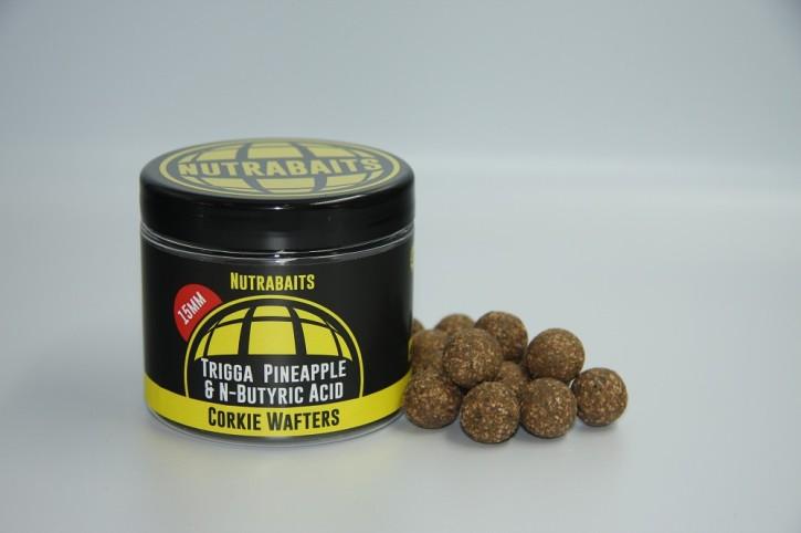 Nutrabaits Trigga Pineapple & N-Butric Corkie Wafter