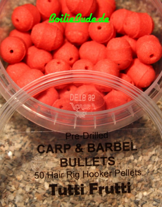 Tutti Frutti Carp & Barbel Bullet in 13mm x 16mm