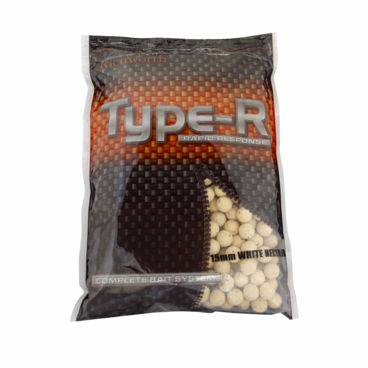 Richworth Type-R White Nectar Boilies 15mm