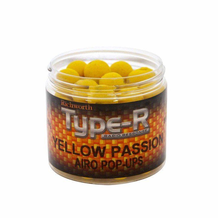 Richworth Type-R Yellow Passion Pop Up´s 15mm