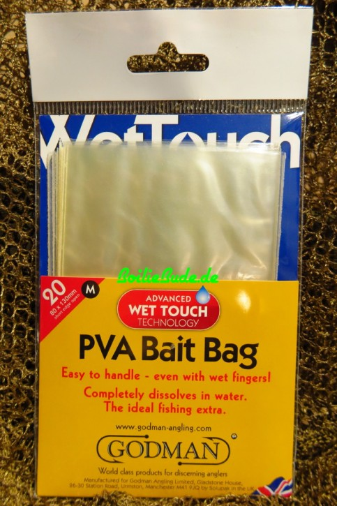 Godman Angling WetTouch Bags Medium