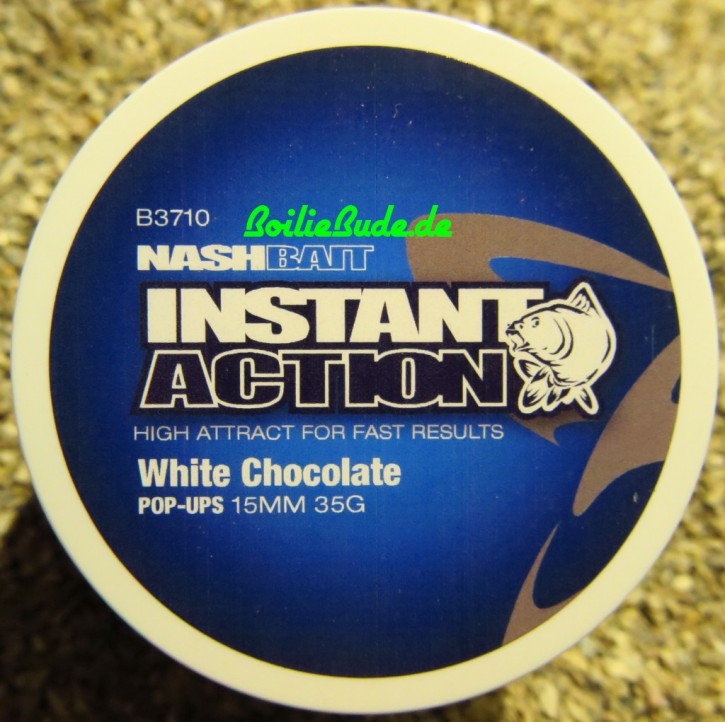Nashbait Classic White Chocolate Pop Up´s 15mm, 35gr.