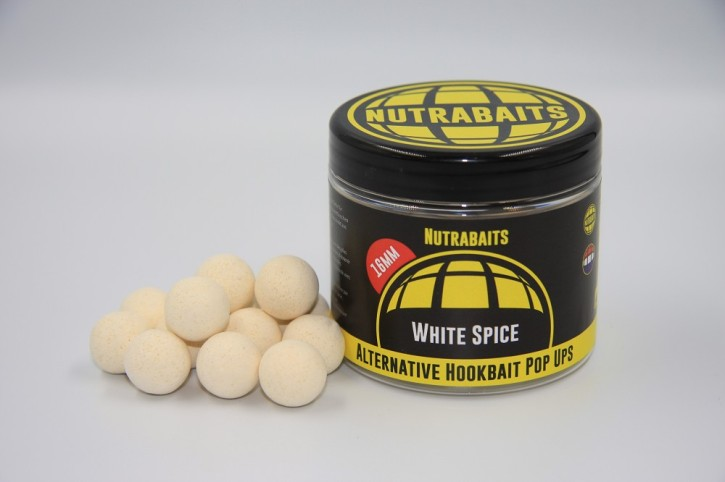 Nutrabaits White Spice Alternativ Pop Up´s