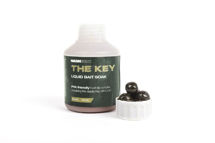Nashbait The Key Liquid Bait Soak 250ml