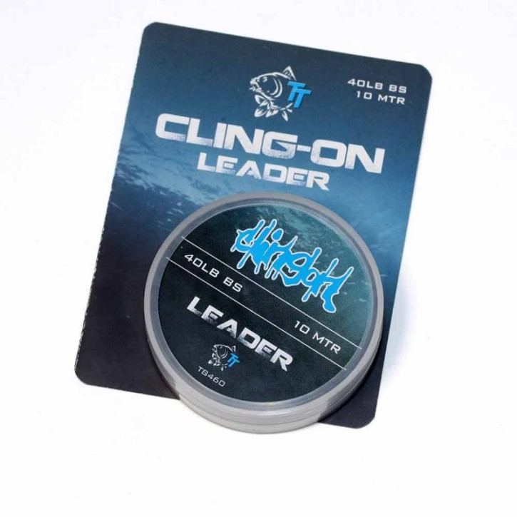Nash Tackle Cling-On Leader Silt 40lb