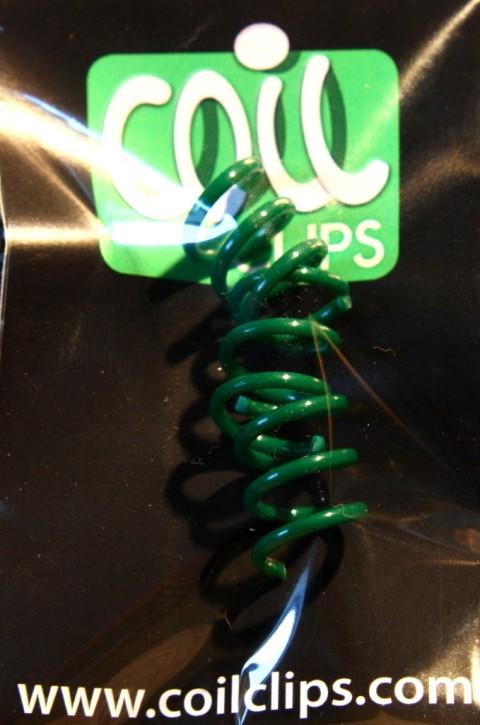 CoilClip in Dark-Green