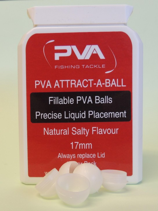 PVA Fishing Tackle Attract-A-Ball Salty, 25 Stück