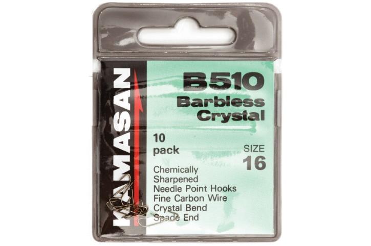 Kamasan B510 Barbless Spade-End Haken