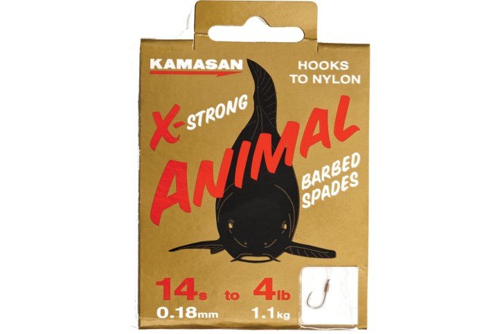Kamasan Animal X-Strong Heavy Barbed Vorfachhaken