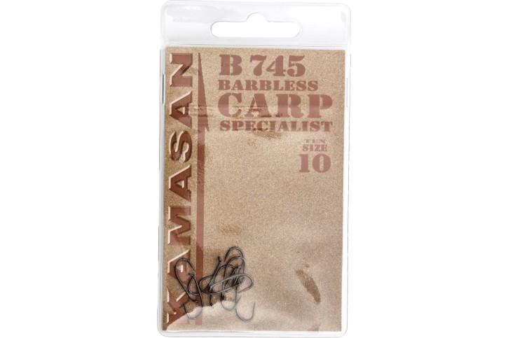 Kamasan Carp Specialist Hook B745 Barbless