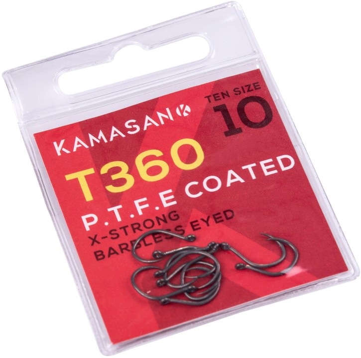 Kamasan T360 Barbless Eyed