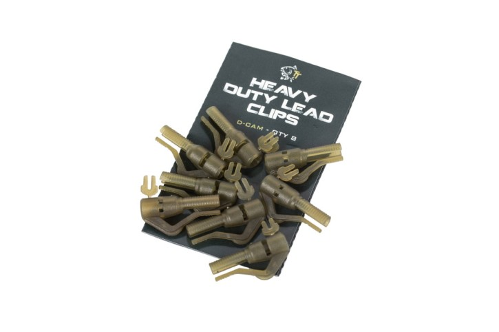 Nash Tackle Heavy Duty Lead Clips Diffusion Camo