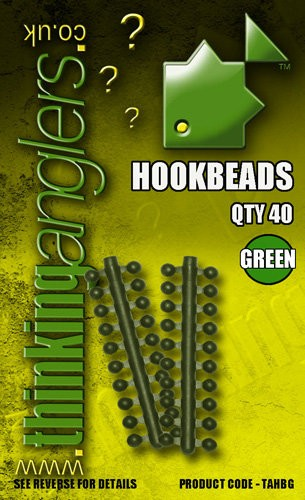 Thinking Anglers Hook Beads in Green