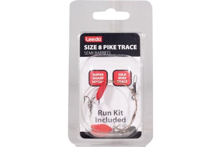 Leeda Pike Trace Size 8, Stahlvorfach