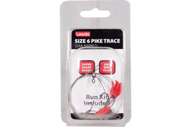 Leeda Pike Trace Size 6, Stahlvorfach
