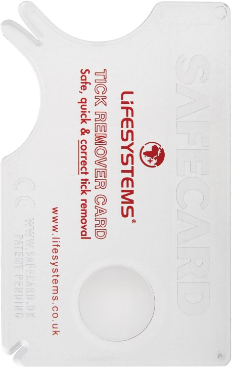 Lifesystems Tick Remover Card